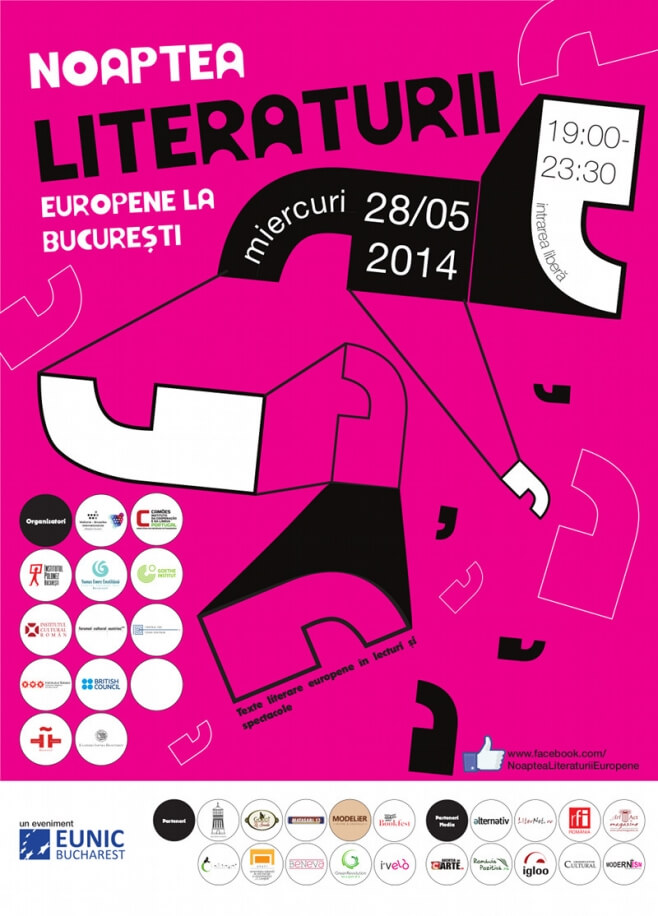 European Literature Night 2014 Bucharest